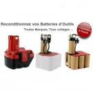 Reconditionnement 24v ni-cd